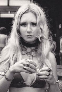 Life at Powder Ridge Rock Festival, 1970