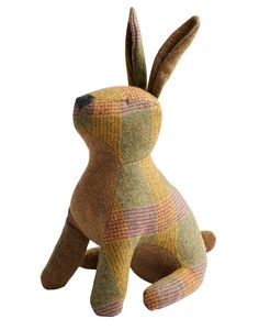 Joules Tweed Hare Door Stop, Tweed. The perfect accessory for any room, this countryside-inspired doorstop offers character and charm in abundance. A great gift idea... or a little treat to yourself.