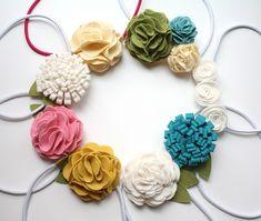 tutorials for felt flowers