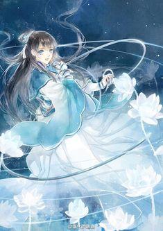 A Cute Woman and Her Clingy Husband Manga Watercolor, Manga Anime, Anime Art, Queen Anime, Geisha Art, Fantasy Princess, Fantasy Art Landscapes, Digital Art Girl, Anime Angel
