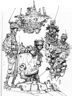 Sketchbook: More doodles.