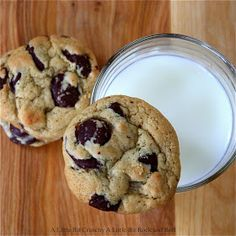 A Little Bit Crunchy A Little Bit Rock and Roll: Overnight Chocolate Chip Cookies