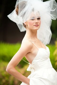 messy puffy veil - Google Search