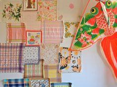 handkerchief mood board