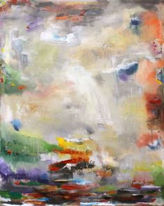 57a6e979e796 ARTFINDER  Sojourn by Chaline Ouellet - Sojourn by Chaline Ouellet An  abstract expressionism painting with