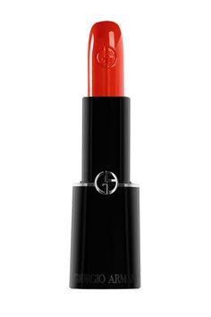 Sheer Red Lipstick- Giorgio Armani Rouge D'Armani Sheer Lipstick in 302, $34
