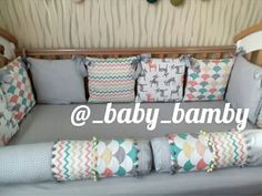 Бортики Bumpers for babycribs by Mudrenova Mariya Instagram @_baby_bamby