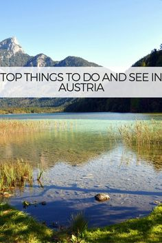 Austria travel and wanderlust inspirations. Austria Top 10 Things to do in Salzburg, Hallstatt, Vienna, Zell am See, Grossglockner, Krimml, Innsbruck CLICK for more ! World Travel Guide, Europe Travel Guide, Travelling Europe, Travel Info, Travel Guides, Cool Places To Visit, Places To Travel, Travel Destinations, European Destination