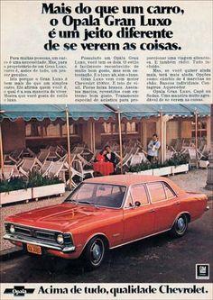 1879 - GM - CHEVROLET - Opala 1973 - Gran Luxo - mais do que um