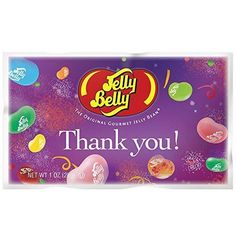 Jelly Beans 166723: Jelly Belly Thank You Assorted Jelly Beans 1Oz Bags Pack Of 30, New -> BUY IT NOW ONLY: $126.12 on eBay!