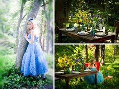 Alice In Wonderland Inspiration Shoot