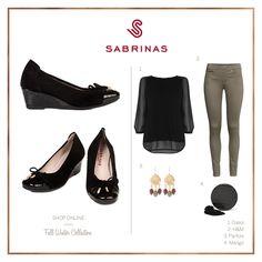 Sabrinas QATAR COCO CHAROL NEGRO.   The QATAR COCO CHAROL NEGRO Sabrinas. #Sabrinas #Trends #Shoes #Look #MadeInSpain #FW1415