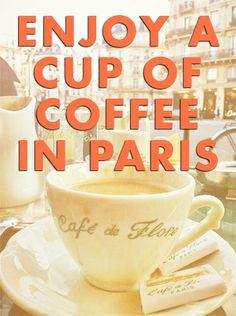 It's on my list of things to do... What's on your list? #france #paris #coffee
