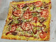 Recepty :: LowCarbSTerkou Vegetable Pizza, Low Carb, Vegetables, Instagram, Vegetable Recipes, Vegetarian Pizza