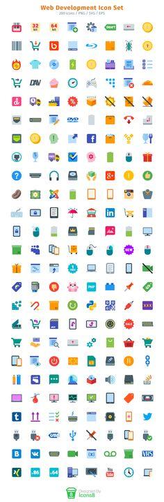 Web Development Icon Set