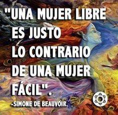 〽️ Simone de Beauvoir...