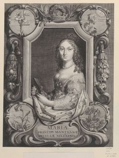 Maria Gonzaga, Duchess of Montferrat (1609-1660) Daughter of Francesco Gonzaga and Margaret of Savoy. In the Royal Collection Trust