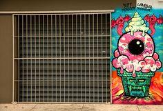 #StreetArt #UrbanArt - Buff Monster