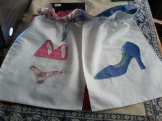 Bolsas para los zapatos y la ropa interior