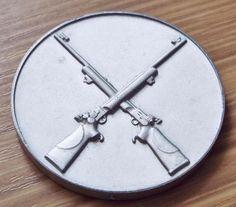 Vintage 1961 RAF Finningley Rifle Shooting Medal - Royal Air Force