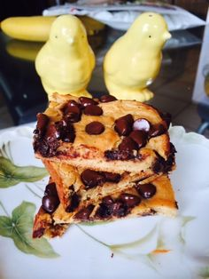 Peanut Butter Chocolate Chip Cookie Bars - Powered by @ultimaterecipe