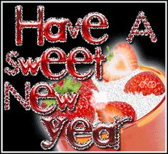 Have a Sweet New Year quote greeting 2014 new year