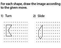 Slide, Flip and Turn Worksheets Mental Maths Worksheets, Geometry Worksheets, Teacher Worksheets, Reflection Geometry, Reflection Math, 3rd Grade Math, Grade 3, Transformations Math, Math Word Walls