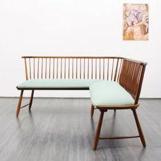 sofas 1950s corner bench (No. 5533) Karlsruhe Velvet-Point