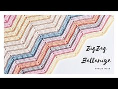 Zigzag Battaniye Yapılışı / İki Farklı Zigzak Örgü Modeli (YENİ BAŞLAYANLAR İÇİN DETAYLI ANLATIM) - YouTube Chevron, Crochet Bedspread, Manta Crochet, Bed Spreads, Zig Zag, Kids And Parenting, Outdoor Blanket, Knitting, Sewing