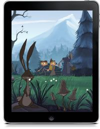 Hansel and Gretel Animated Storybook Epic Tales Grades 3-6 fairy tales