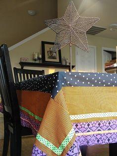 diy table cloth