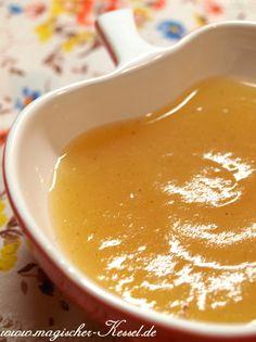 Herbst ist Erntezeit: Basisrezept für samtiges Apfelmus mit Honig und Vanille