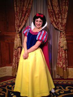 Snow White at Princess Fairytale Hall at Walt Disney World