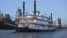BB Riverboats in Cincinnati - Cincinnati Articles - Citiview Travel Guide Ohio River, Guide Book, Where To Go, Cincinnati, Sailing Ships, Travel Guide, Have Fun, Bb, Explore