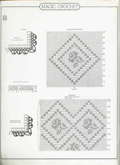 钩编桌布床罩系列(24) - 紫苏 - 紫苏的博客