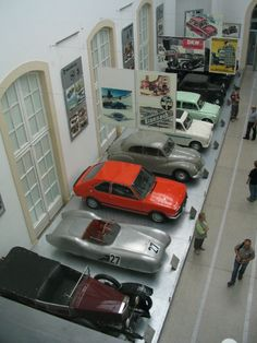 The Dresden Transport Museum (German: Verkehrsmuseum Dresden) displays vehicles of all modes of transport, such as railway, shipping, road and air traffic, under one roof.