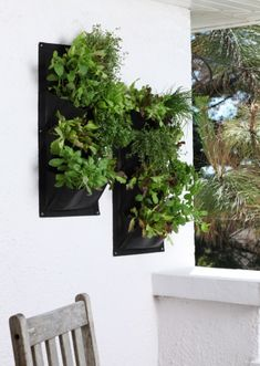 Another funky looking vertical planter. - The Balcony Gardener