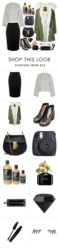 """In this white night fantasy"" by natjulieta ❤ liked on Polyvore featuring Alexander McQueen, Topshop, Mr & Mrs Italy, Chloé, Fuji, Marc Jacobs, Bottega Veneta, Areaware, L'Oréal Paris and Napoleon Perdis"