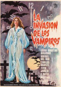 1306.- La Invasión de los Vampiros (1963) Director: Miguel Morayta