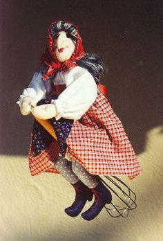 - Madame Mitzi, Kitchen Witch PDF Cloth Doll Making Sewing Pattern Doll Sewing Patterns, Doll Clothes Patterns, Sewing Toys, Semarang, Layout Design, Old Kitchen Cabinets, Farmhouse Kitchen Decor, Condo Kitchen, Kitchen Art