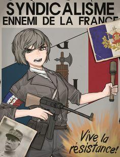 Anime Military, Military Girl, Anime Art Girl, Anime Guys, League Of Legends Comic, Valkyria Chronicles, Cartoon Crossovers, Alternate History, Girls Frontline
