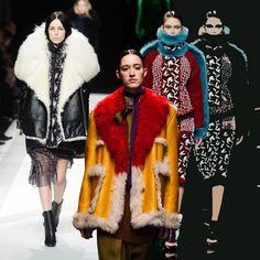 На коллаже: Sacai, Prada, Peter Pilotto; также в коллекциях: Victor&Rolf, Coach, Alexander Wang, Maison Irfe, Dolce&Gabbana, Matthew Williamson