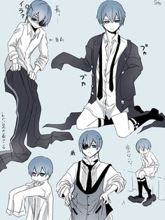 Black Butler Funny, Black Butler Ciel, Black Butler Kuroshitsuji, Anime Oc, Kawaii Anime, Sebastian X Ciel, Black Butler Characters, Butler Anime, Fanart