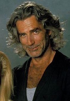 ♪♫♪ and a Southern Man with a low, long drawl...makes me weak in the knees ♪♫♪ Good 'Ole Sam Elliott's