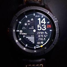 """MD88"" for Samsung Gear S2 / S3 / Sport Work in progress... -- #watch #watchface #samsung #gear #gears3 #gears2 #wearable #gearsport #smartwatch #gears3frontier #gears3classic #samsunggear #sport #watchfaces #digital #electronics #technology #tech #electronic #device #gadget #gadgets #instatech #instagood #geek #techie #nerd #techy #photooftheday #screen"