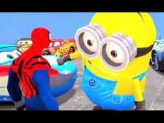 Nursery Rhymes Children Songs ♫ For Kids Blue Spiderman with His Blue Sp...