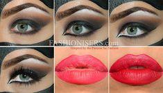 Catwoman Makeup Tutorial for Halloween #makeup #Halloween #Halloweenmakeup