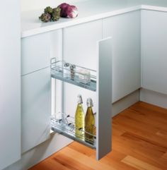 PEKA 150mm Base Unit Pull-Out (2 Shelves) | Supplier - LDL Kitchen and Furniture Fittings & Accessories