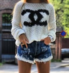 channel...cool summer outfit