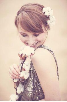 Zauberhafte Braut-Haarkränze von Milles Fleurs und Anja Schneemann Photography - Hochzeitsguide